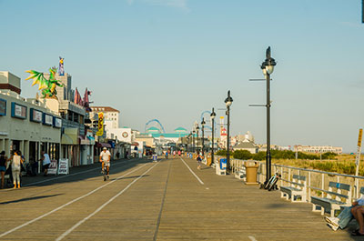 The Ocean Boardwalk